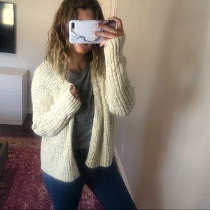 LA Hearts Chunky Knit Cardigan Sweater